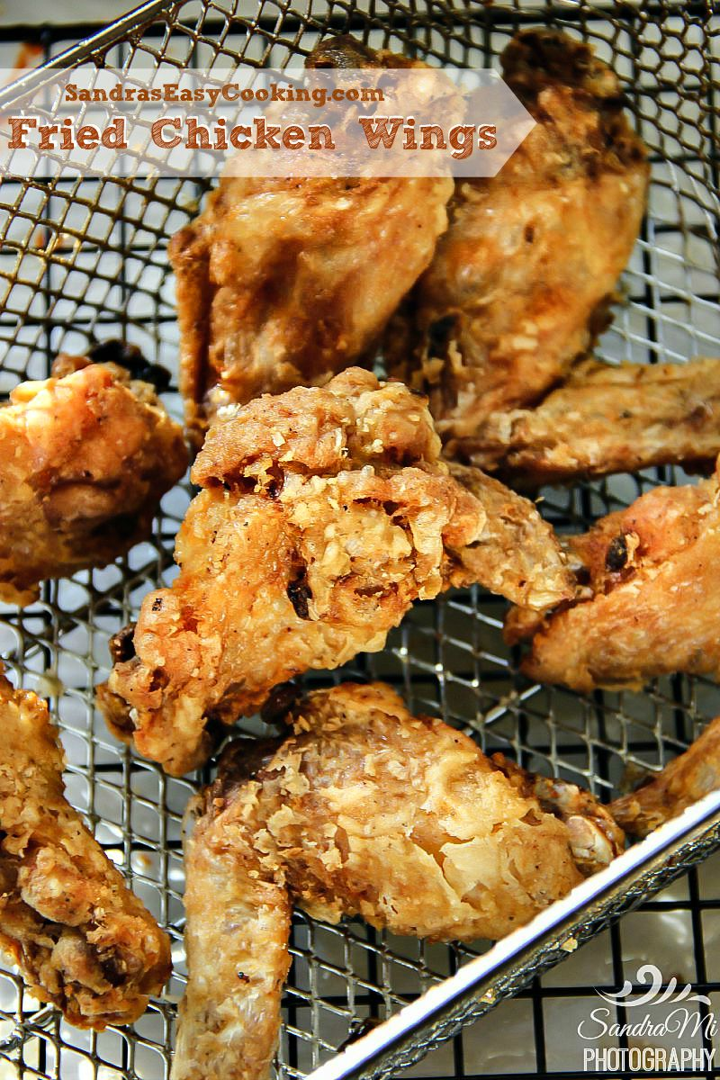 Fried Chicken Wings with a quick video tutorial