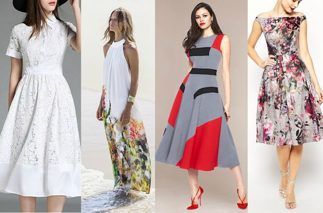 Vestidos para a primavera