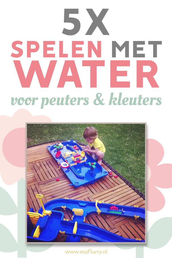 spelletjes water peuters
