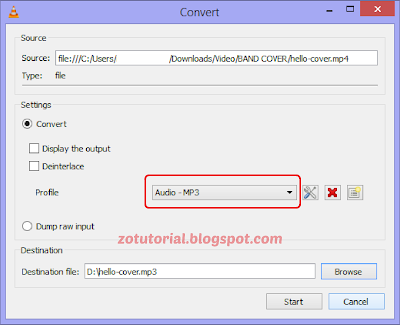 Cara Convert Video ke Audio (MP3) dengan VLC Media Player