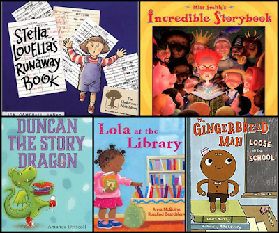 Picture books to teach book care and library rules and behavior