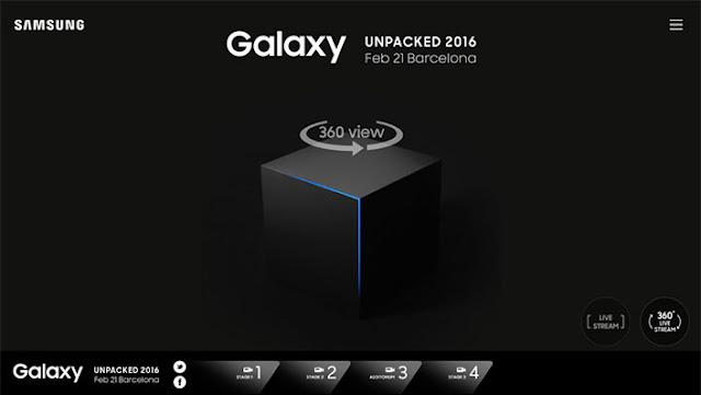 Samsung Unpacked 2016 akan disiarkan live streamed 360 derajat