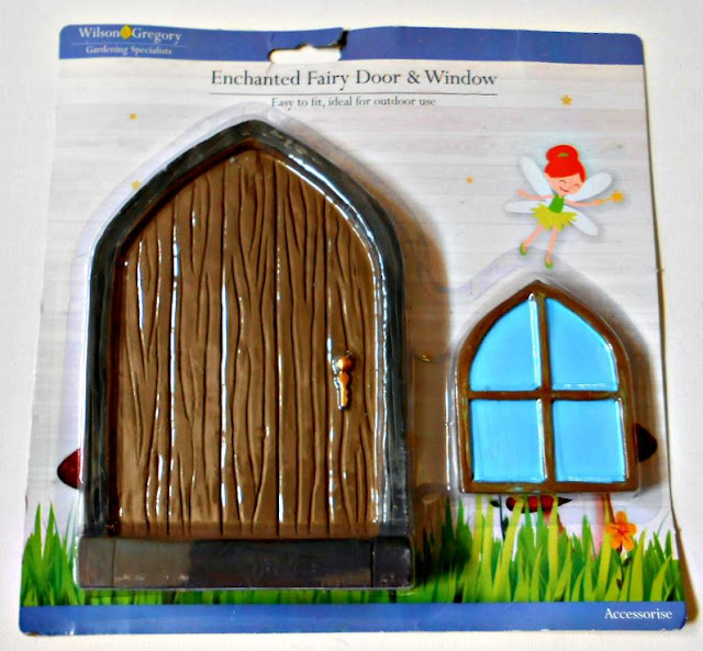 This adorable little fairy door and window was very inexpensive but will add fun and a little quirkiness to our tiny front garden.