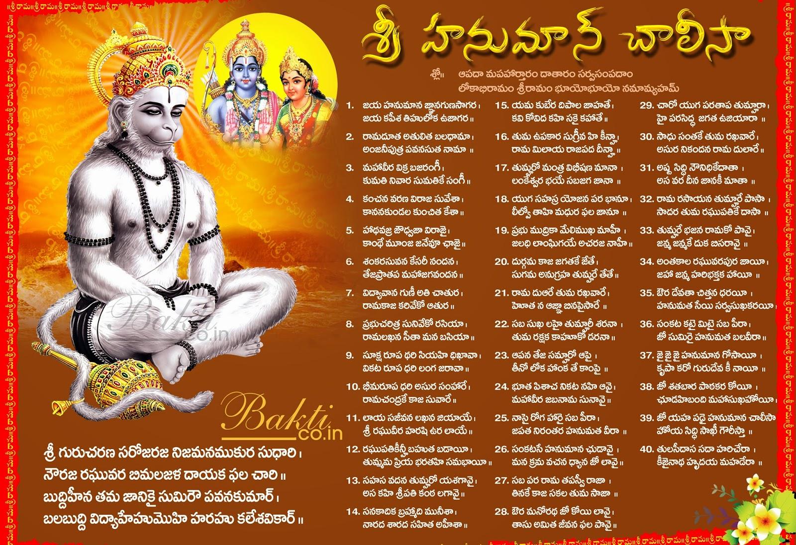 Telugu Hanuman Chalisa | naveengfx