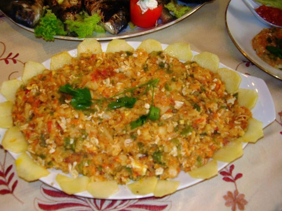 Recette du complet poisson avec sa tastira tunisienne et - Cuisine tunisienne poisson ...