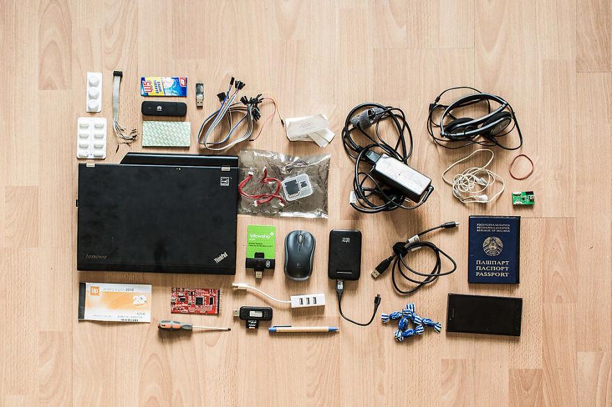 ¿Qué hay en la mochila de un hacker?