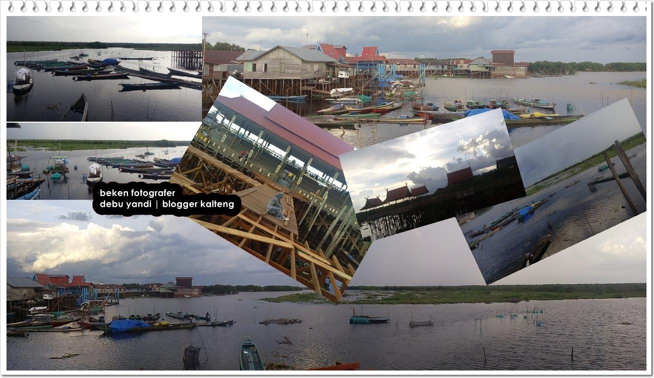 Suasana Terkini Objek Wisata Dermaga Kereng Bangkirai Kota Palangka Raya