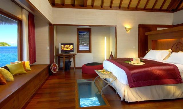 Rooms in four seasons resort