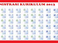 Aplikasi Model Administrasi Kurikulum 2013 Jenjang SD, SMP, SMK Lengkap
