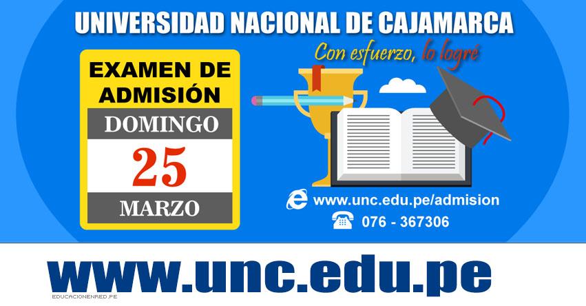 Resultados Admisión UNC 2018-2 (25 Marzo) Ingresantes Segundo Examen Universidad Nacional de Cajamarca - Jaén - Chota - Celendín - Cajabamba - Bambamarca - www.unc.edu.pe