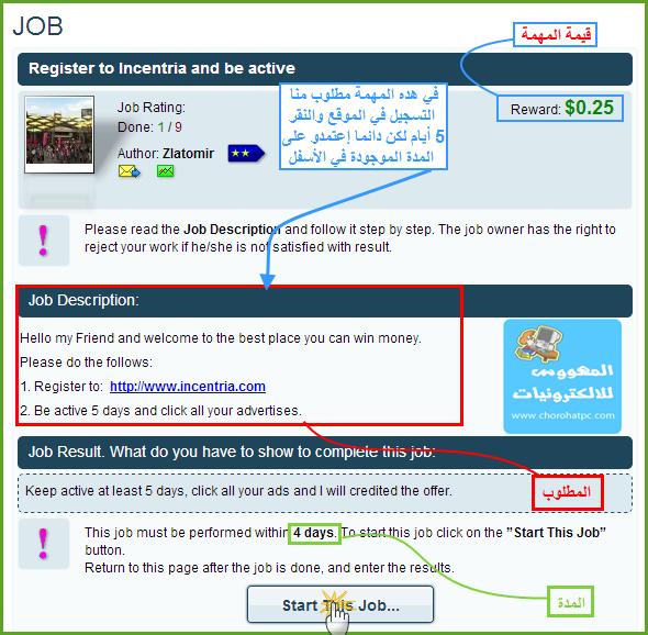 شرح dollarsincome لربح المال مقابل التسجيل في المواقع