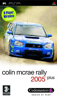 Colin McRae Rally 2005 PSP GAME