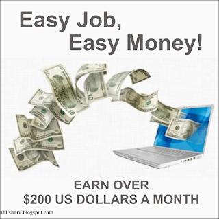 Kerja online gratis, cara menghasilkan uang dari internet