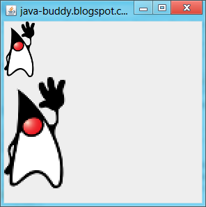 Java-Buddy: Translate and scale with AffineTransform