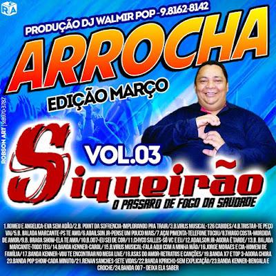 CD SIQUEIRÃO VOL 03 EDIÇÃO DE MARÇO 2017