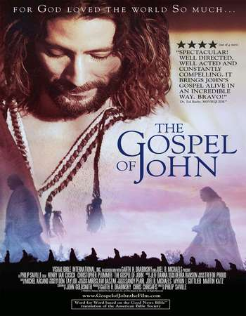 Poster Of The Gospel of John 2003 Hindi Dual Audio  300MB WEBRip 576p Free Download Watch Online 300mb.cc