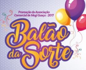 Promoção ACIMG Mogi Guaçu Natal 2017 Balão da Sorte