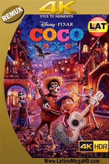 Coco (2017) Latino Ultra HD BDREMUX 2160P - 2017
