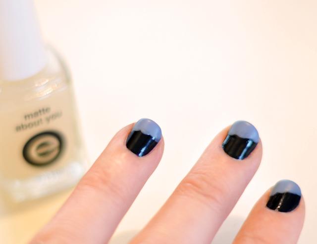 nails, manicure, matte top coat