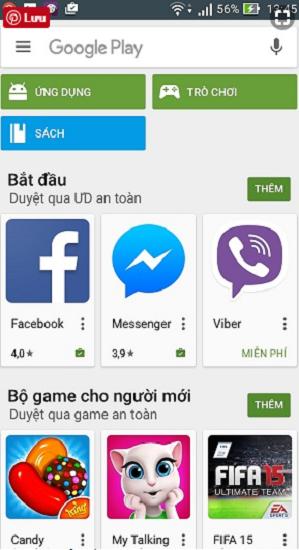 CH PLay, phiên bản Mới nhất update Full 2018 cho smartphone Android e