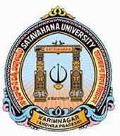 Satavahana University Time Table 2016