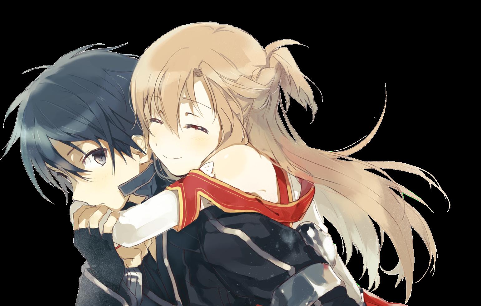 Sword Art Online - Kirito and AsunaKirito And Asuna
