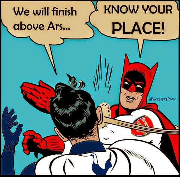 """""""Karena Tottenham di atas Arsenal Hanyalah Mitos"""""""
