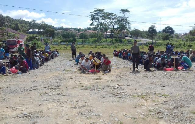 Ratusan Tenaga Linmas Abdya dilatih Amankan TPS