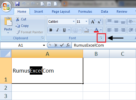 Dialog Box Launcher Excel