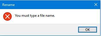 Cách tạo thư mục với tên folder bắt đầu từ dấu chấm