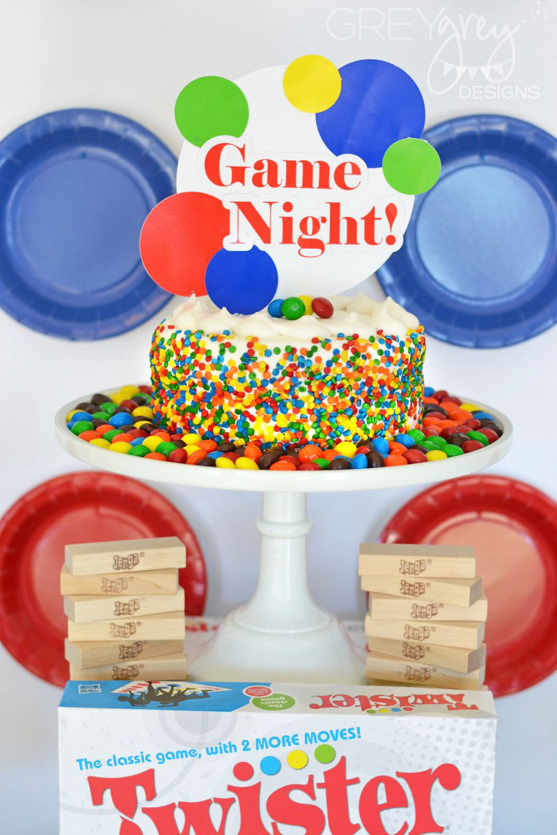 Stand Firm Designs : Greygrey designs my parties family game night party