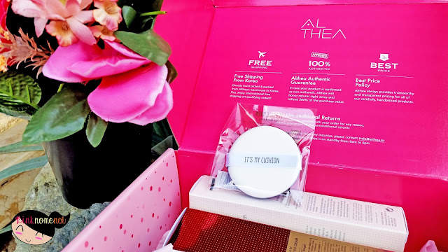 Unboxing Althea PH It's My Cushion Puff pinknomenal.com
