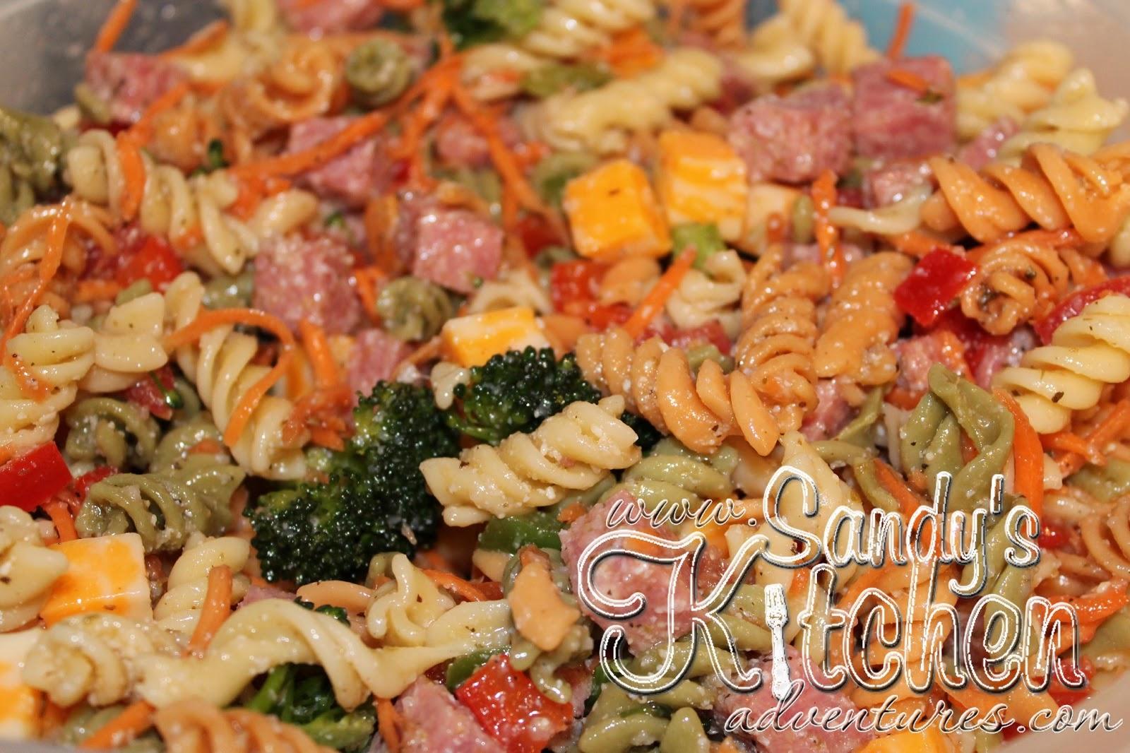 Perfect Pasta Salad Sandy Kitchen