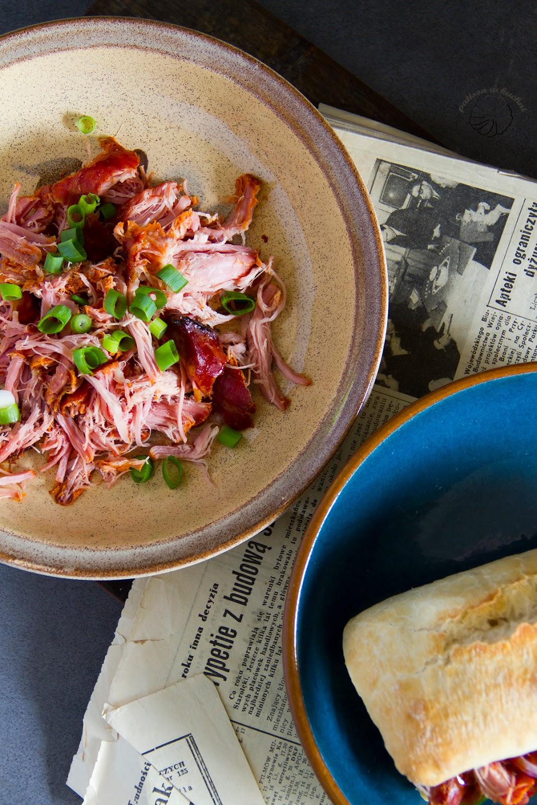 Pulled pork czyli wyczesana wieprzowina.