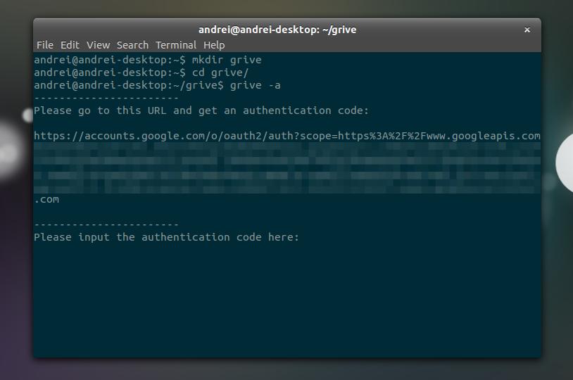 Grive: Open Source Google Drive Client For Linux ~ Web