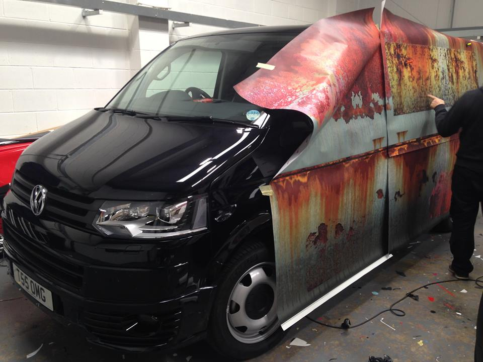 01-Clyde Wraps-Car-Vinyl-Wrap-with-the-Rust-Treatment-www-designstack-co