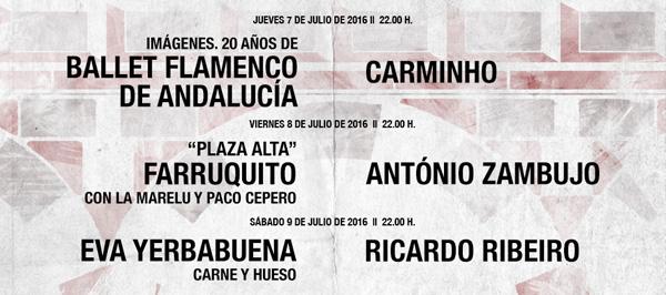 Badasom cartel artistas IX edición festival flamenco fado 2016