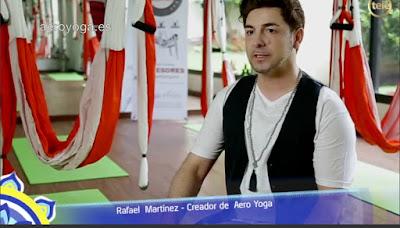 AeroYoga® en prensa, Yoga Aereo, Pilates Aereo, Tendencias Fitness, Tendencias Yoga, Aerial Yoga, Columpio