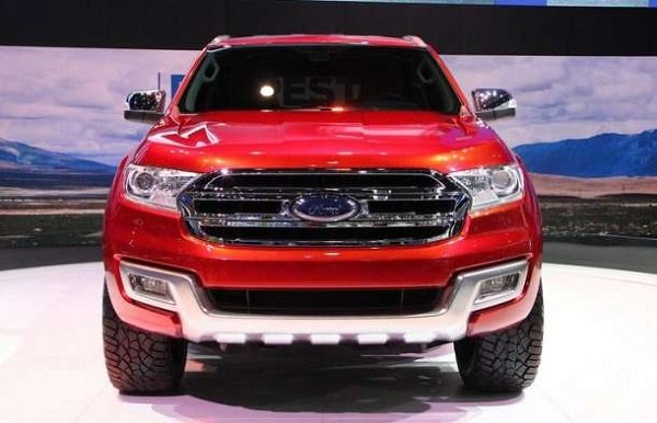 2016 Ford Everest release date