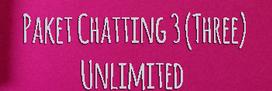 Cara Daftar Paket Chatting 3 Unlimited Sebulan Hanya 5000 Terbaru 2019