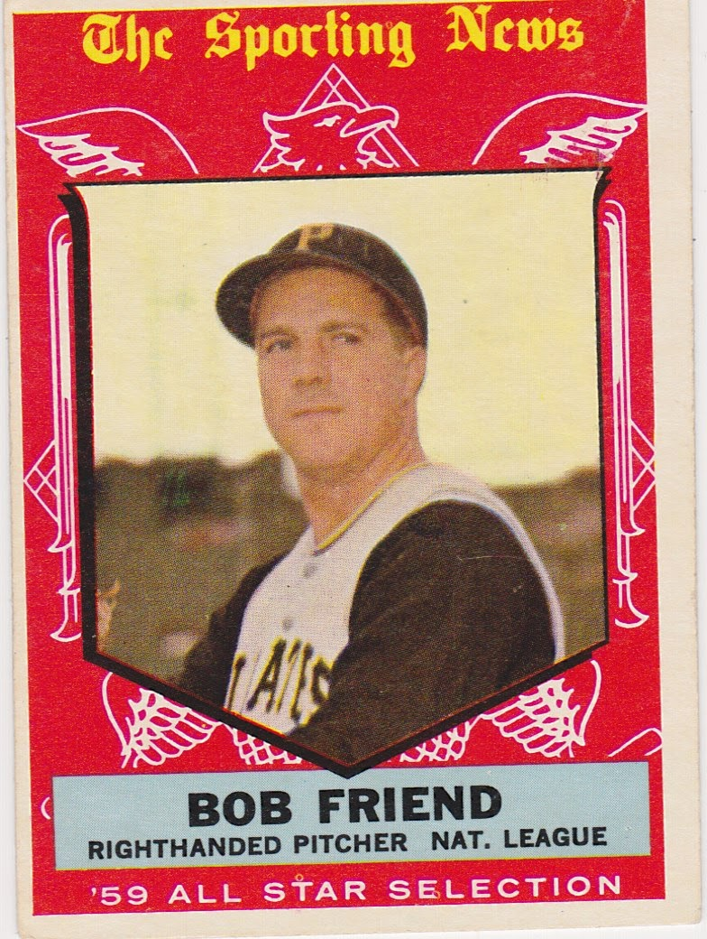 59 Topps One Fg Card At A Time 569 Bob Friend The