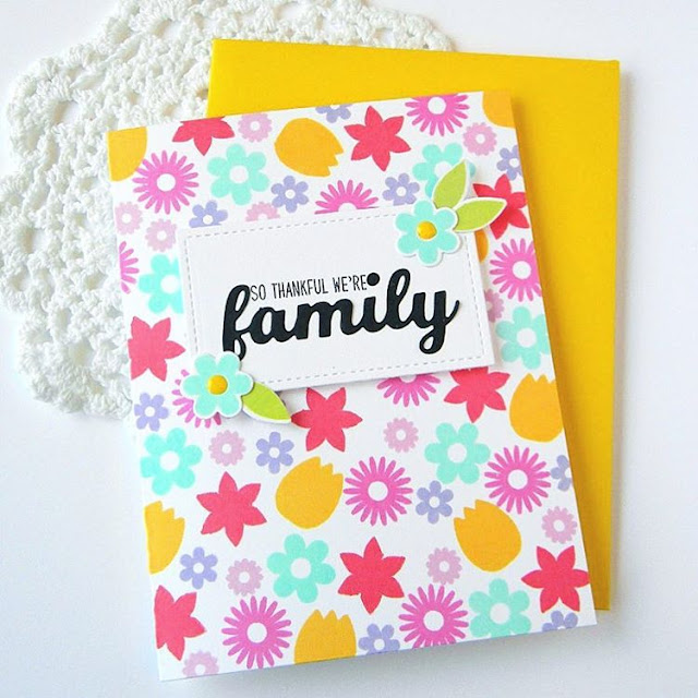 Sunny Studio Stamps: Sunny Saturday Shares Card by Melissa