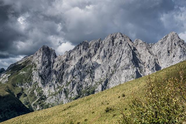 panorama berge monte crostis