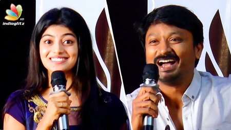 Anandhi's eyes are 100/100, that powerful : Krishna Speech | Pandiagai Tamil Movie