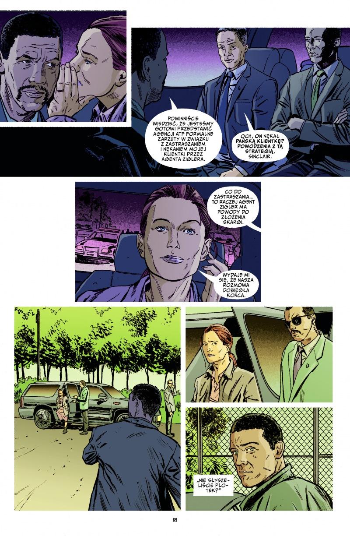 Briggs Land tom 2: Samotna walka przykładowa strona