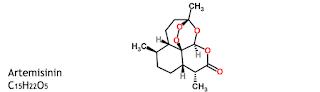 Artemisinin ialah obat yang dipakai untuk Antiinfeksi Artemisinin