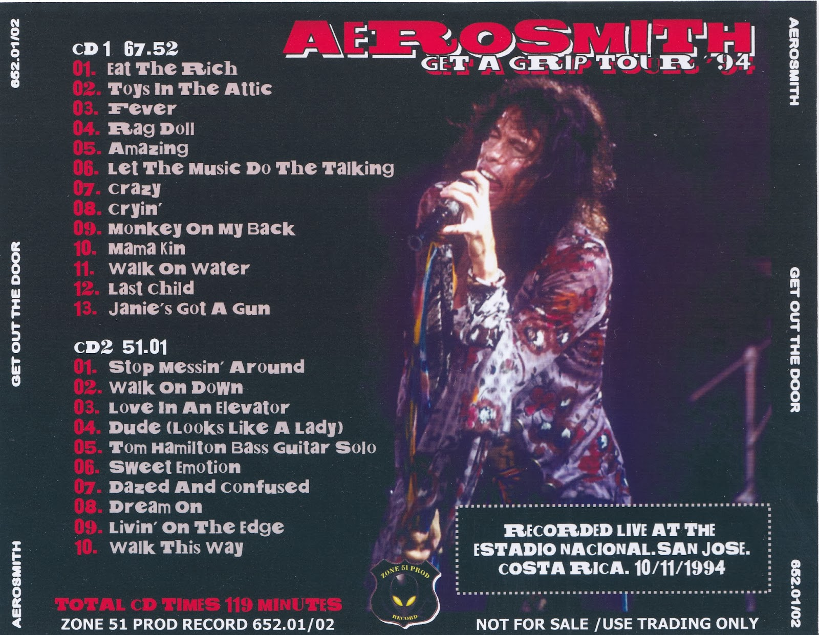 Aerosmith Bootlegs Cover Arts 1 1 14 2 1 14