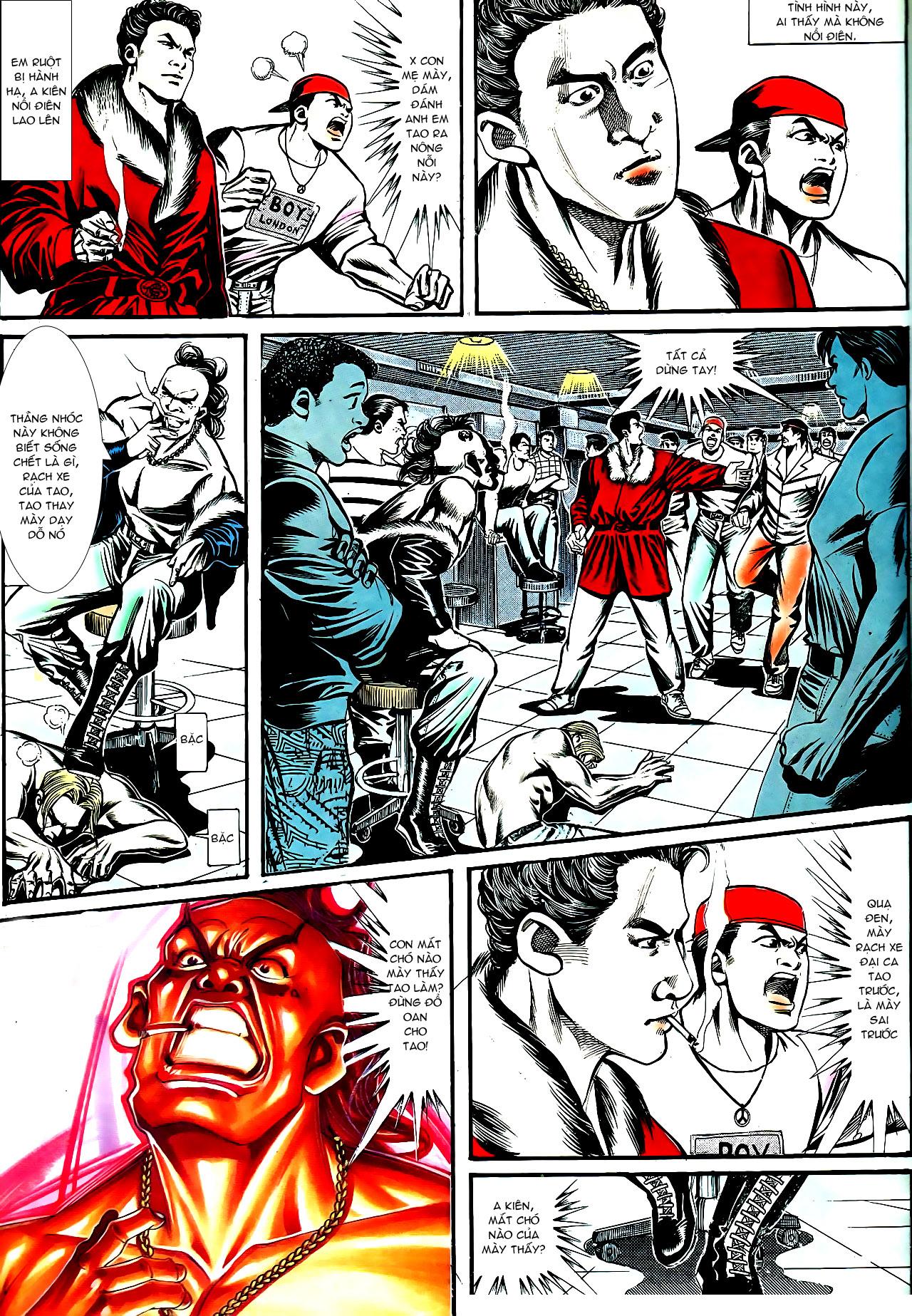 Người Trong Giang Hồ chapter 154: nam đẹp trai trang 12