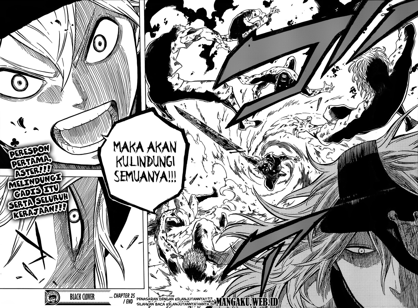 Manga Black Clover Chapter 25 Bahasa Indonesia