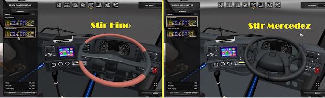 Pilihan Stir Bus ETS2